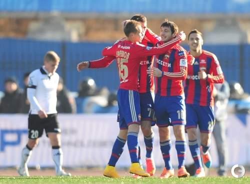 ЦСКА стал первым участником ¼ финала Кубка России